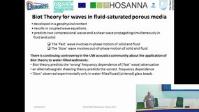 Waves in porous materials, Plenary Lecture by Keith Attenborough (The Open University)