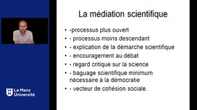Modes de diffusion de la Culture scientifique, technique et industrielle