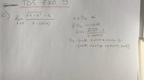 TD 5 Exo 9 Question c