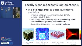 Experiments on the new acoustics of granular crystals and metamaterials, by Nicholas Boechler (University of Washington)