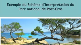 Exemple du Schéma d'interprétation du Parc national de Port-Cros