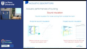 Regulation and standards in acoustics, by Sylvain Berger (Saint Gobain)