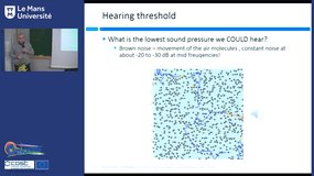 Introduction to psychoacoustics and psychoacoustic tests, by Kristian Jambrosic (University of Zagreb)