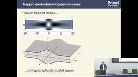 Asymptotic modelling of the Rayleigh-Bloch waves travelling along a periodically-perturbed elastic surface, by Aleksey Pichugin (Brunel University London)