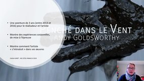 Land Art - Andy Goldsworthy : approche des cairns ovoïdes